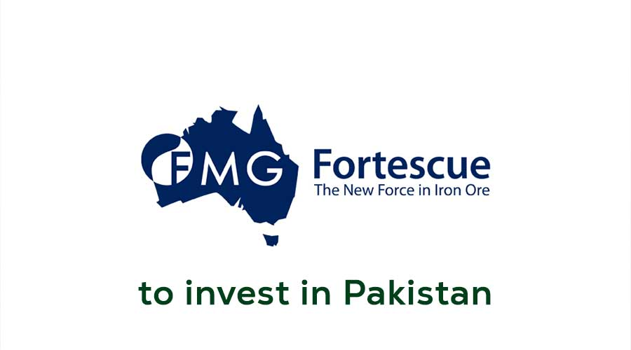 Fortescue Metals invest in Pakistan