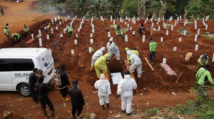 Global Covid-19 death toll
