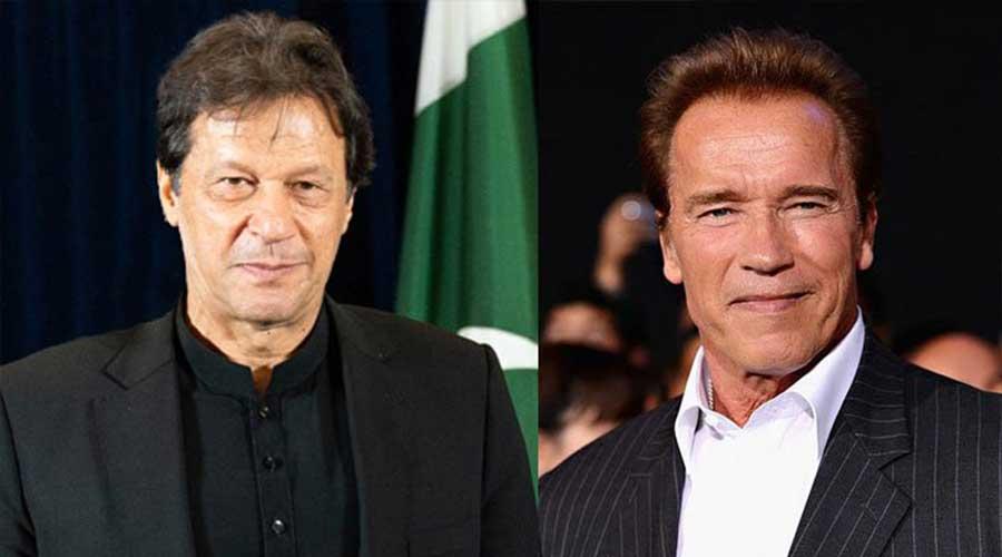 Imran Khan Schwarzenegger Climate