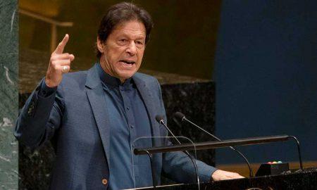Imran UN address Kashmir