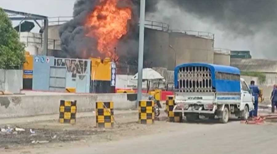 Keamari fire death injured