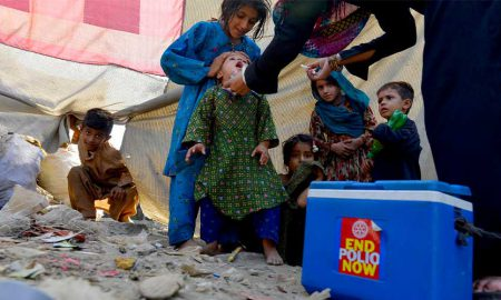 Pakistan polio multiple vaccine
