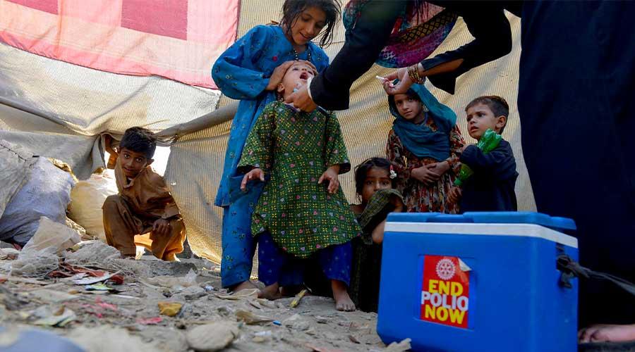 Pakistan polio multiple vaccine