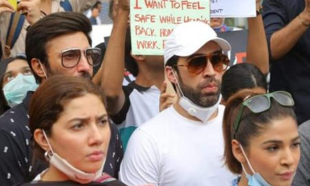 Pakistani celebrities protest rape