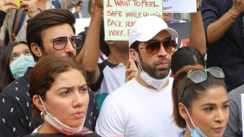 Pakistani celebrities protest rape