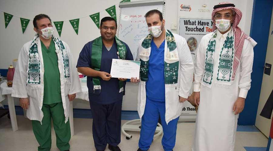 Pakistani doctor Saudi Covid-19