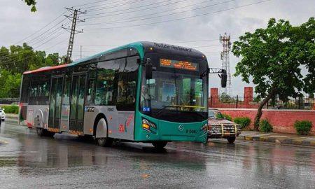 Peshawar BRT temporarily