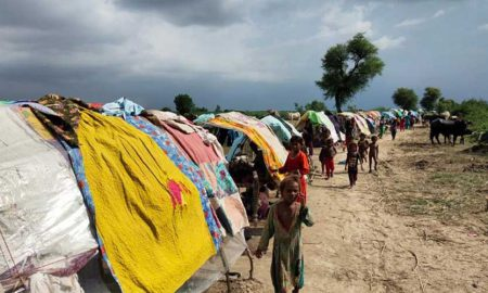 Rain victims in Sindh