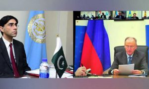 Russia Pakistan's new map