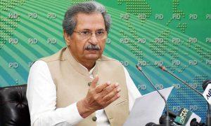 Shafqat Mahmood false news schools
