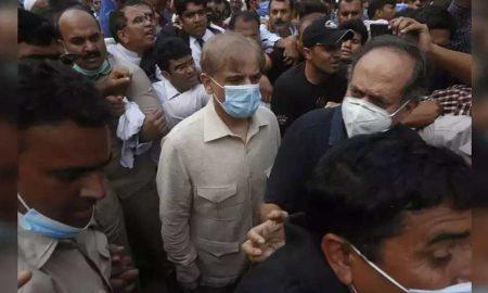 Shehbaz Sharif arrested