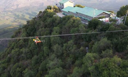 longest sky bridge zipline