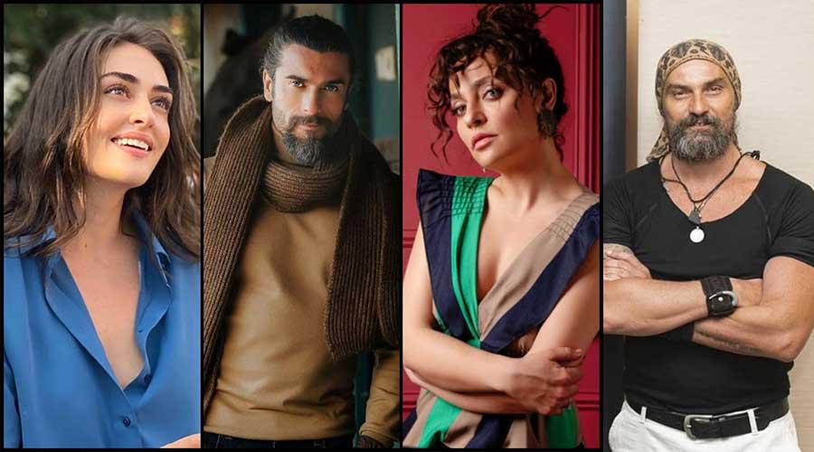 Ertugrul actors Pakistani brands