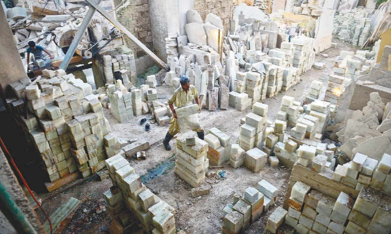 Marble industry exports