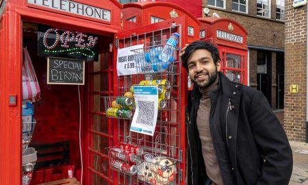 Pakistani entrepreneur phone booths