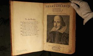 Shakespeares First Folio