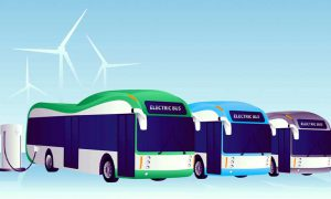 electric buses in Karachi