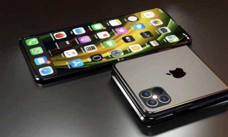 self-healing foldable iPhone