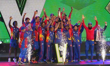 Karachi Kings PSL trophy