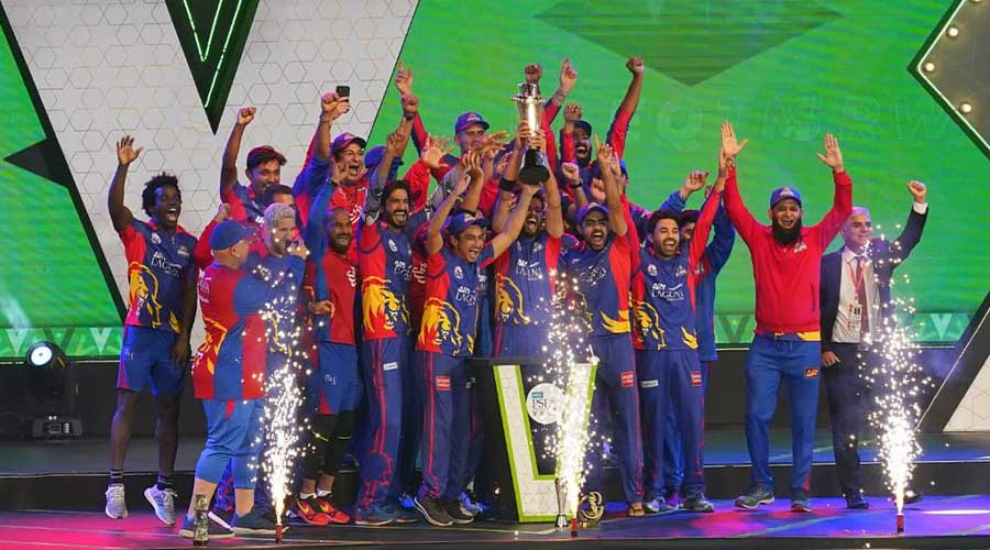 Karachi Kings PSL trophy