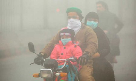 Lahore polluted