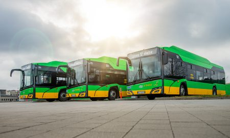 green electric buses