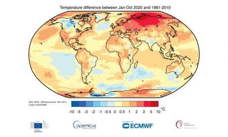 2020 hottest year
