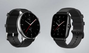 GTS GTR 2e smartwatches