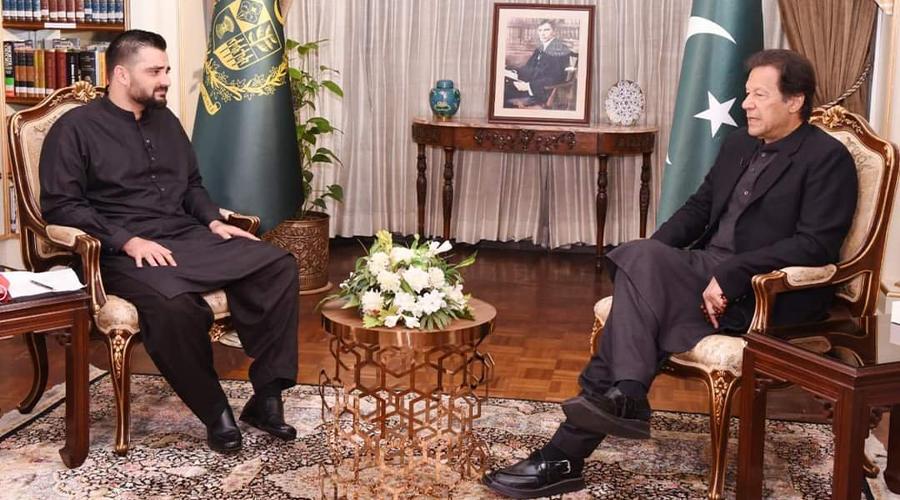Hamza Abbasi Imran Khan