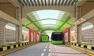 Green and Orange Line