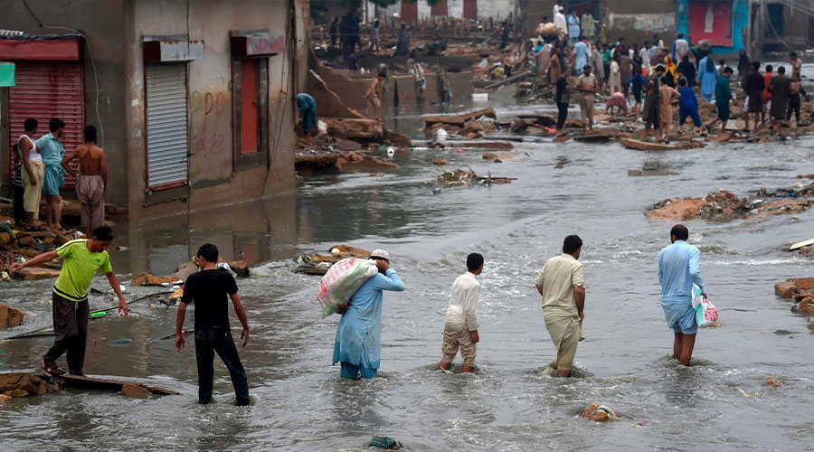 Sindh monsoon relief