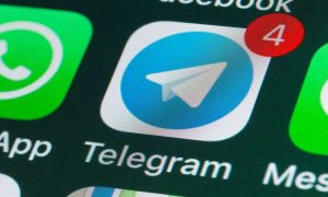 Telegram WhatsApp chats