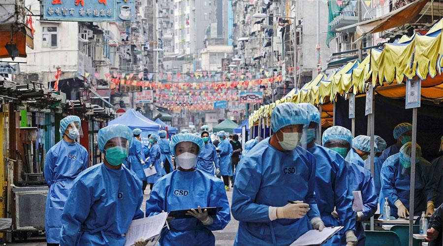 world Coronavirus infections