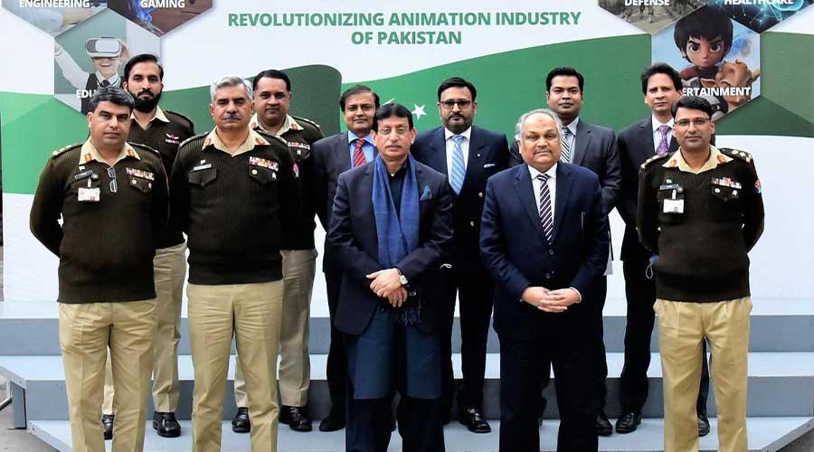ISPR animation industry