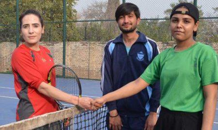 Khyber Pakhtunkhwa tennis player