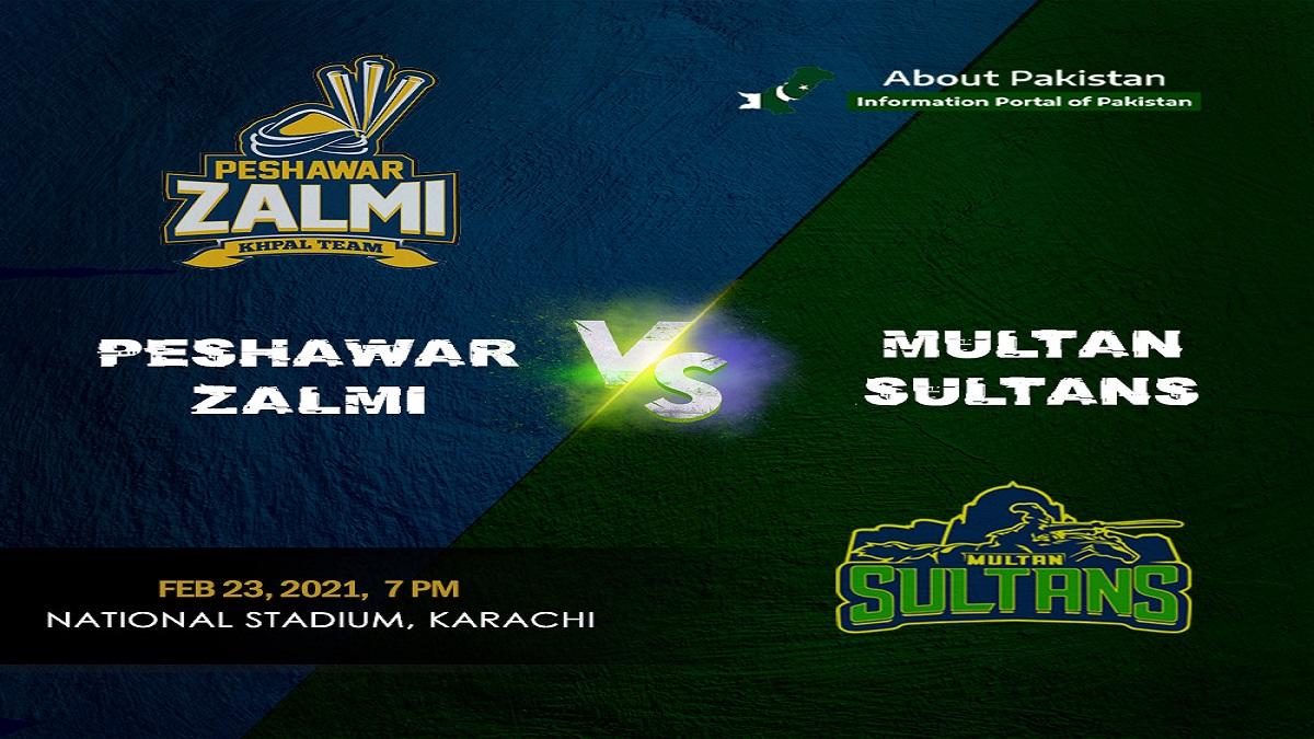 Peshawar Zalmi won by 6 wickets
