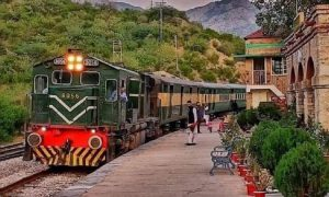 Tourist train launched between Golra and Attock