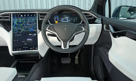 Tesla touchscreen