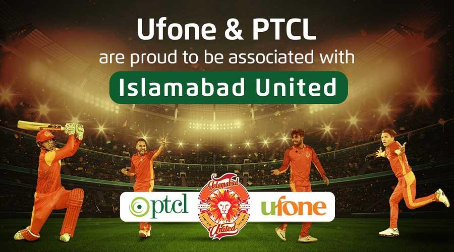Ufone PTCL Islamabad United