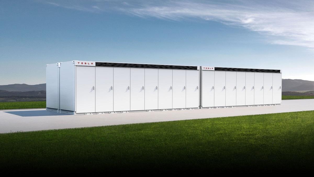 Tesla batteries