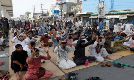 TLP protest