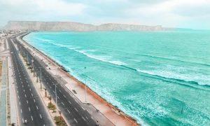 Gwadar as a future economic hub of Pakistan.