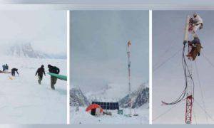 phone tower at K2