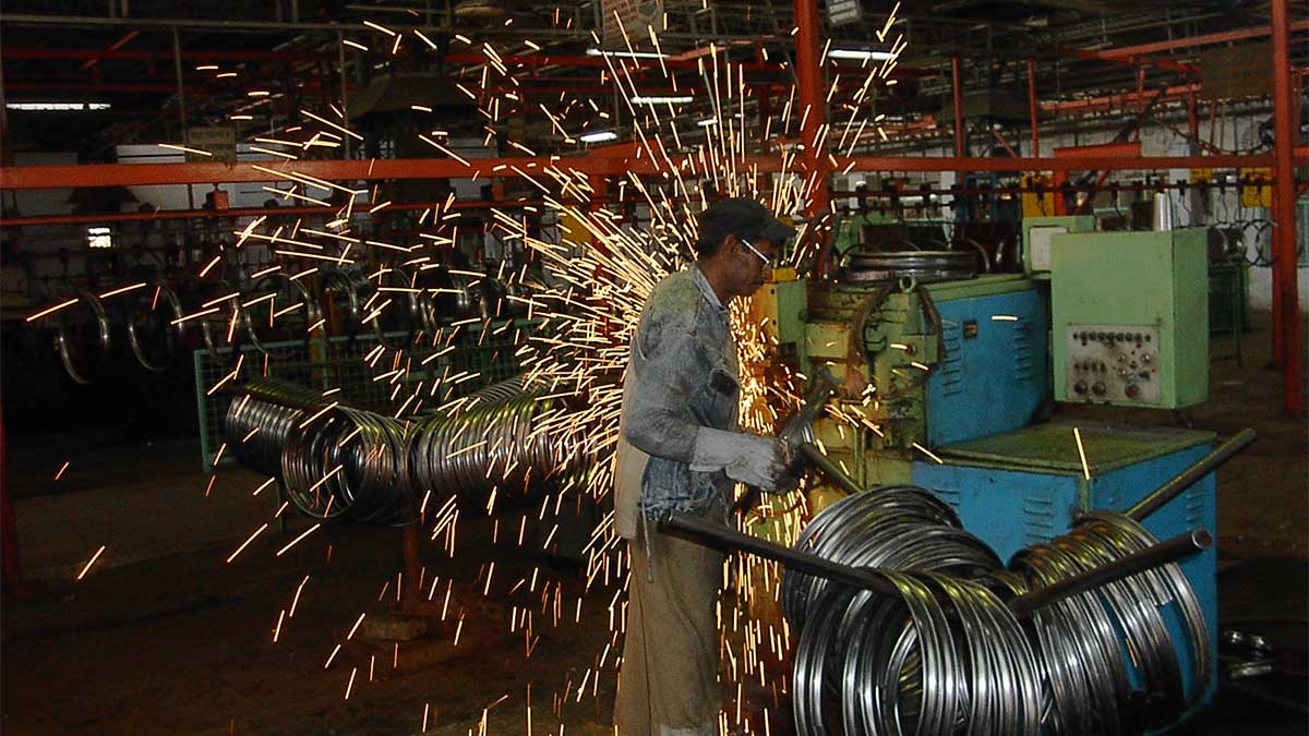 Industrial jobs