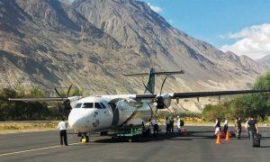 PIA direct flights Skardu