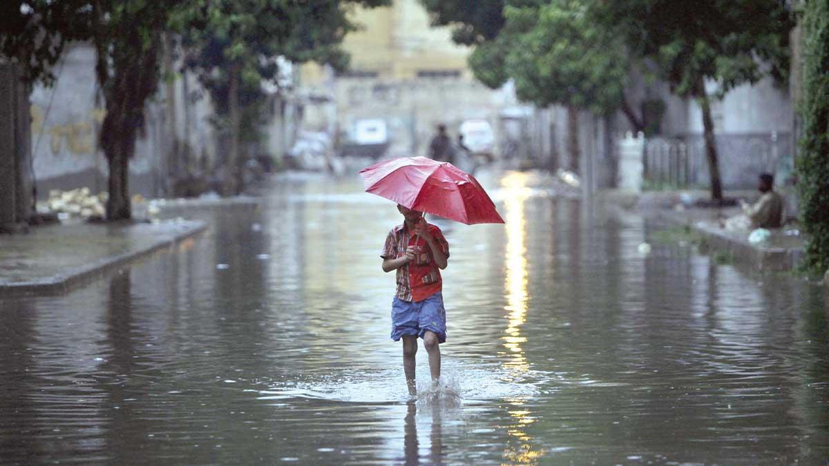 Pakistan rainfall