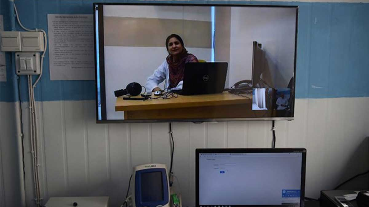 Telehealth services to Palestinians