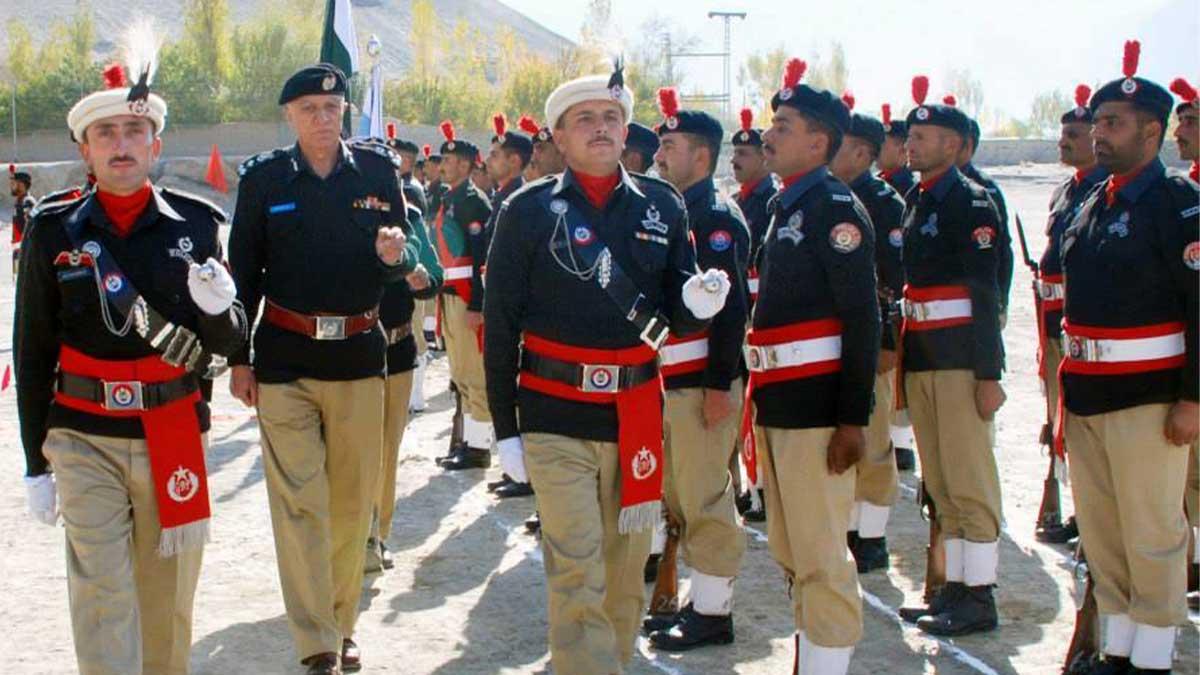 Gilgit Baltistan police