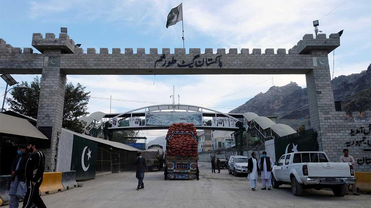 Khyber Pakhtunkhwa border