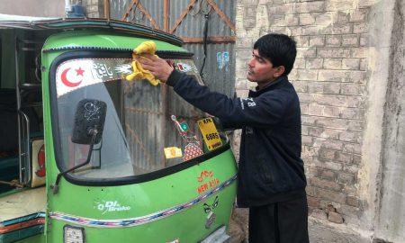 Peshawar rickshaw driver